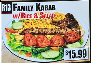 Crown Fried Chicken - Family Kabab with Rice and Salad.jpg