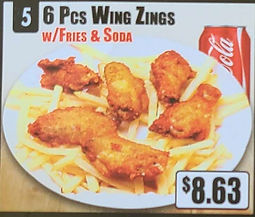 Crown Fried Chicken - 6 Piece Wings Zings with Fries and Soda.jpg