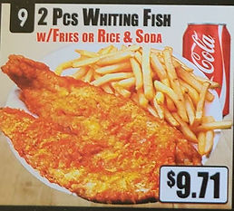 Crown Fried Chicken - 2 Piece Whiting Fish with Fries or Rice or  Soda.jpg