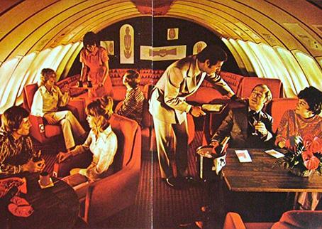 Aviação de Luxo nos anos 70