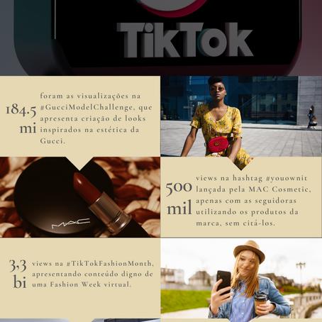Infográfico: as marcas de luxo no TikTok