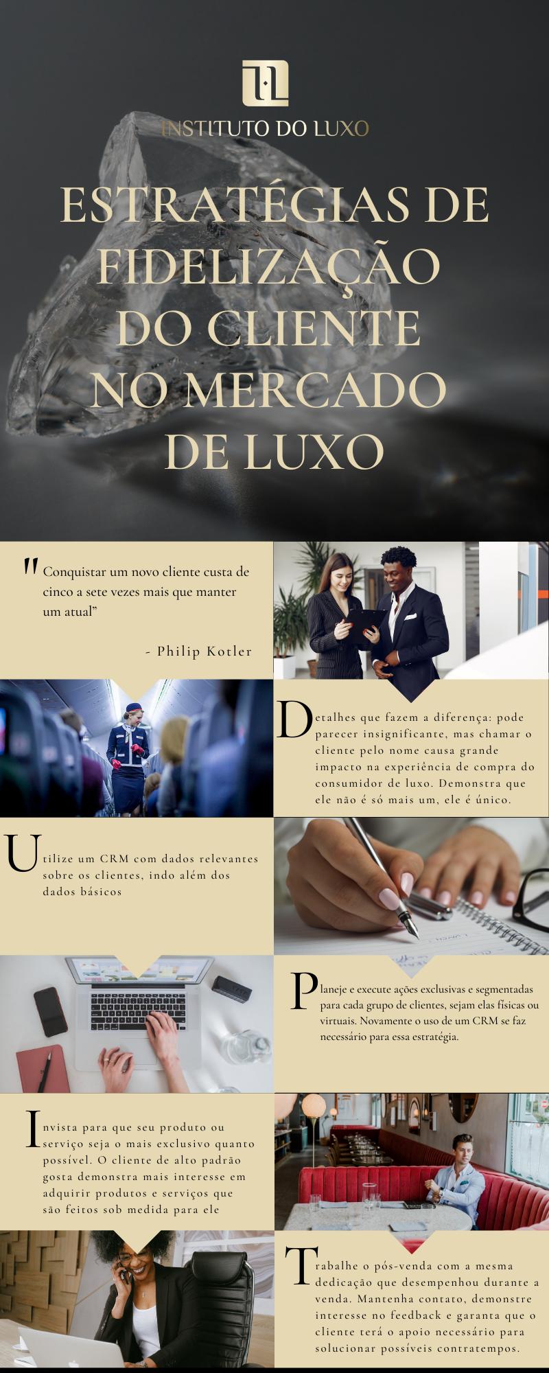Estratégias de fidelização do cliente  no mercado de luxo