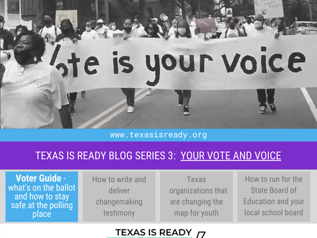 Your guide for all things voting in Texas this November