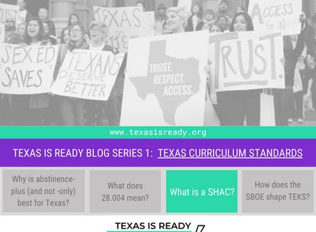 What are SHACs, and how do they impact sex ed in Texas schools?