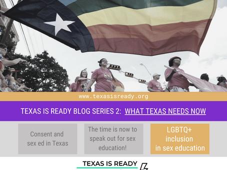 Why is LGBTQ+ representation in sex ed essential?
