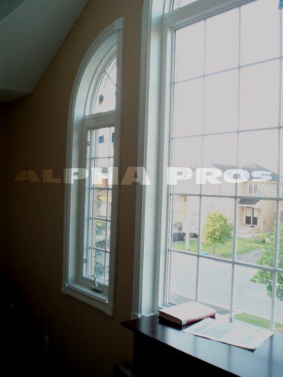 Shaped window