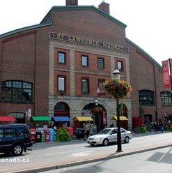St.Lawrence Market.