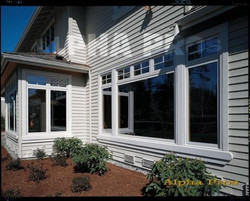 House with the new windows