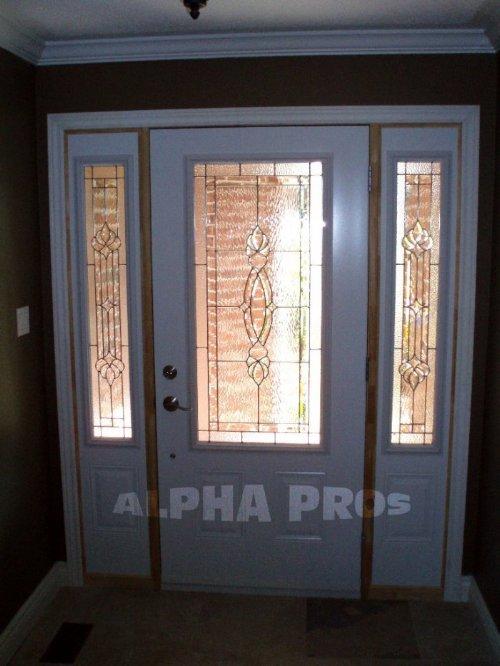 Front Door with Sidelites