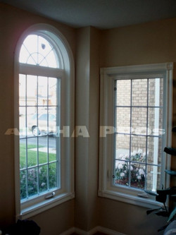 Two windows with the vinyl package