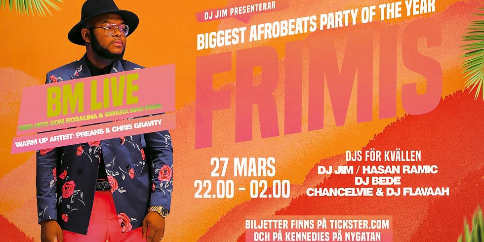 BM Live - Biggest Afrobeats party