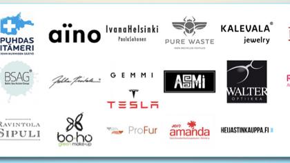 Muotinäytökseen useita uusia sponsoreita ja yhteistyökumppaneita