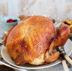 Cooked KellyBronze Turkey