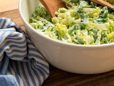 Creamy Savoy Cabbage with Carrots