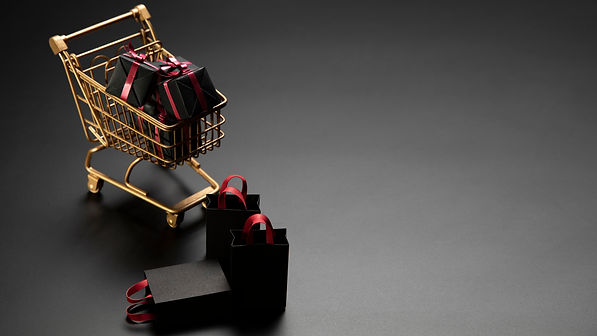 gifts-golden-shopping-cart-with-copy-spa