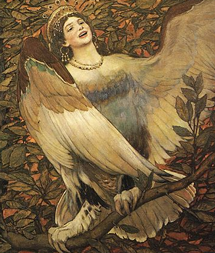 Viktor Vasnetsov. Birds of Joy and Sorrow (1896)