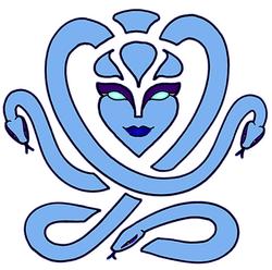 Blue Gorgon