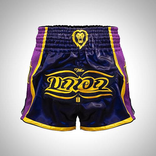 Muay Thai Shorts ~ purple/gold
