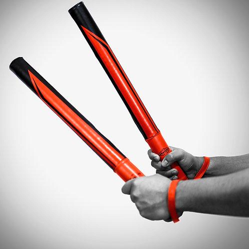 Precision Striking Sticks ~ black/red