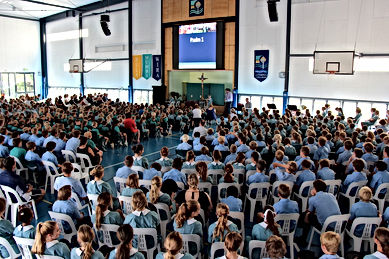 Pacific Lutheran College Chapel Service