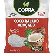 COCO RALADO FINO UMIDO E ADOCADO