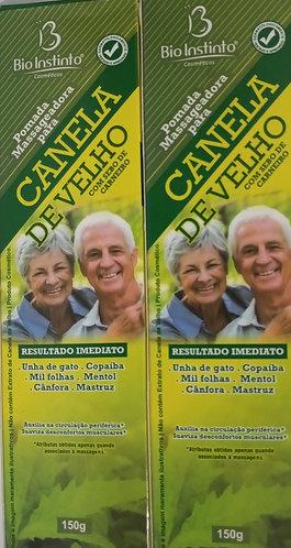 KIT COM 2 POMADAS CANELA DE VELHO