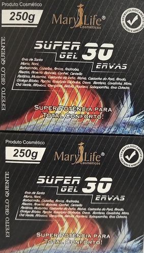 KIT SUPER COM 2 GEL 30 ERVAS