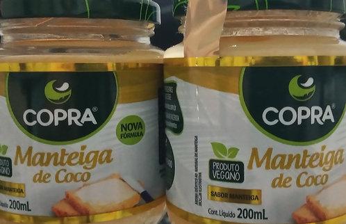 KIT COM 02 MANTEIGAS DE COCO