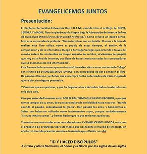 Presentacion Portal EvangelicemosJuntos