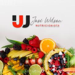 CRIAÇÃO DE LOGOTIPO E IDENTIDADE VISUAL - JOSÉ WILSON NUTRICIONISTA