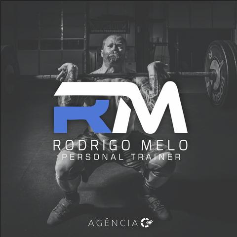 CRIAÇÃO DE LOGOTIPO PARA RODRIGO MELO - PERSONAL TRAINER