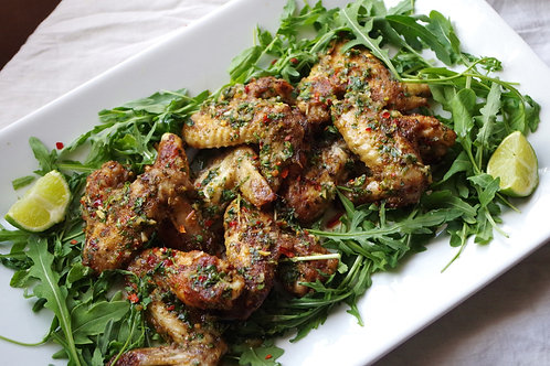 Chicken Wings - Lime & Coriander $19.99 p/kg