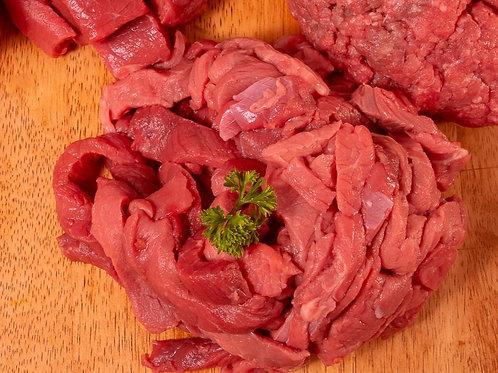 Beef Strips $27.00 p/kg