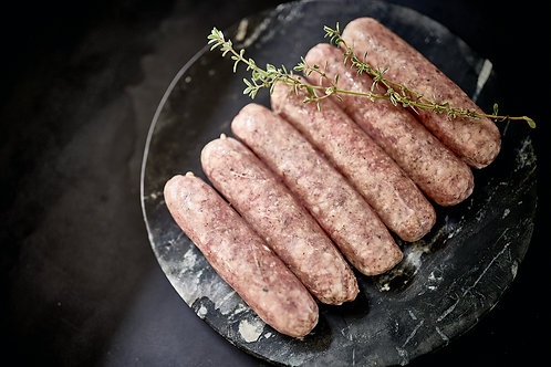 Lamb & Rosemary Sausage $27.99 p/kg