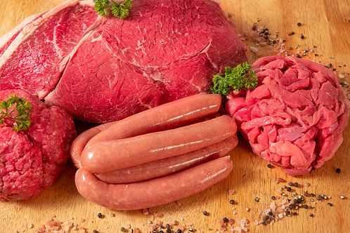 Organic Beef Pack - Small $115.00