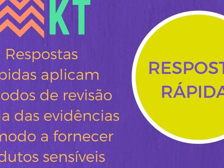 """Kit do Veredas para tradução de conhecimento agora possui """"Respostas Rápidas"""""""