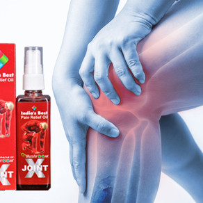 Joint-X, Arthritis and Joint Pain relief Mushroom Oil