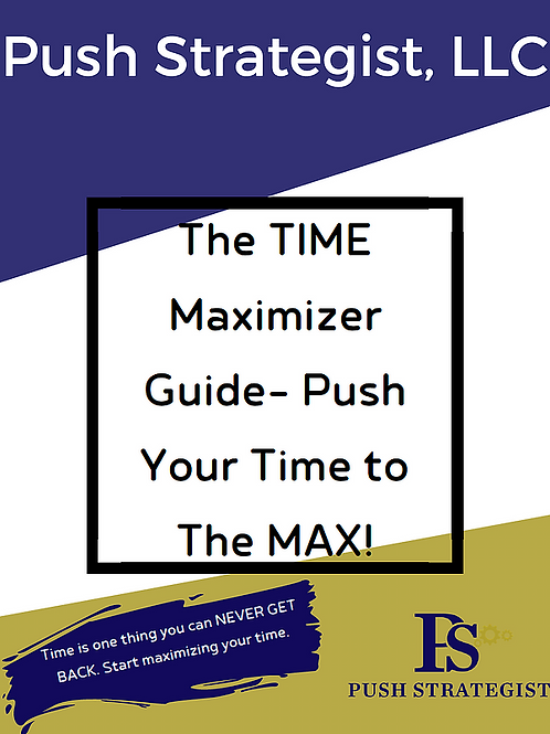 Time Maximizer Guide