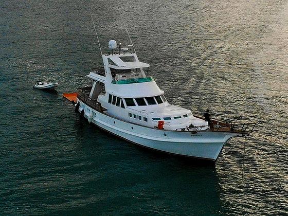 Trawler de 72 pés 1989