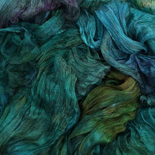 'Silk Scrap Bag', Margilan silk and plant-derived fiber kit for Structural class