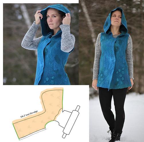 Garment Making, Intermediate, part I, Hooded Vest, Jul 27 -Aug 24