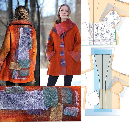 GM Intermediate, part III, Kimono Coat, Sept 7 - Oct 5
