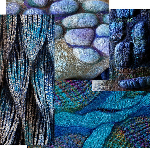 Structural and Textural Methods for Fiber Artists, 6-weeks, Feb 23 - Apr 6