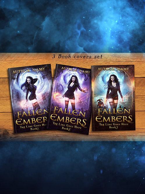 Fallen Embers 3 Book covers Set