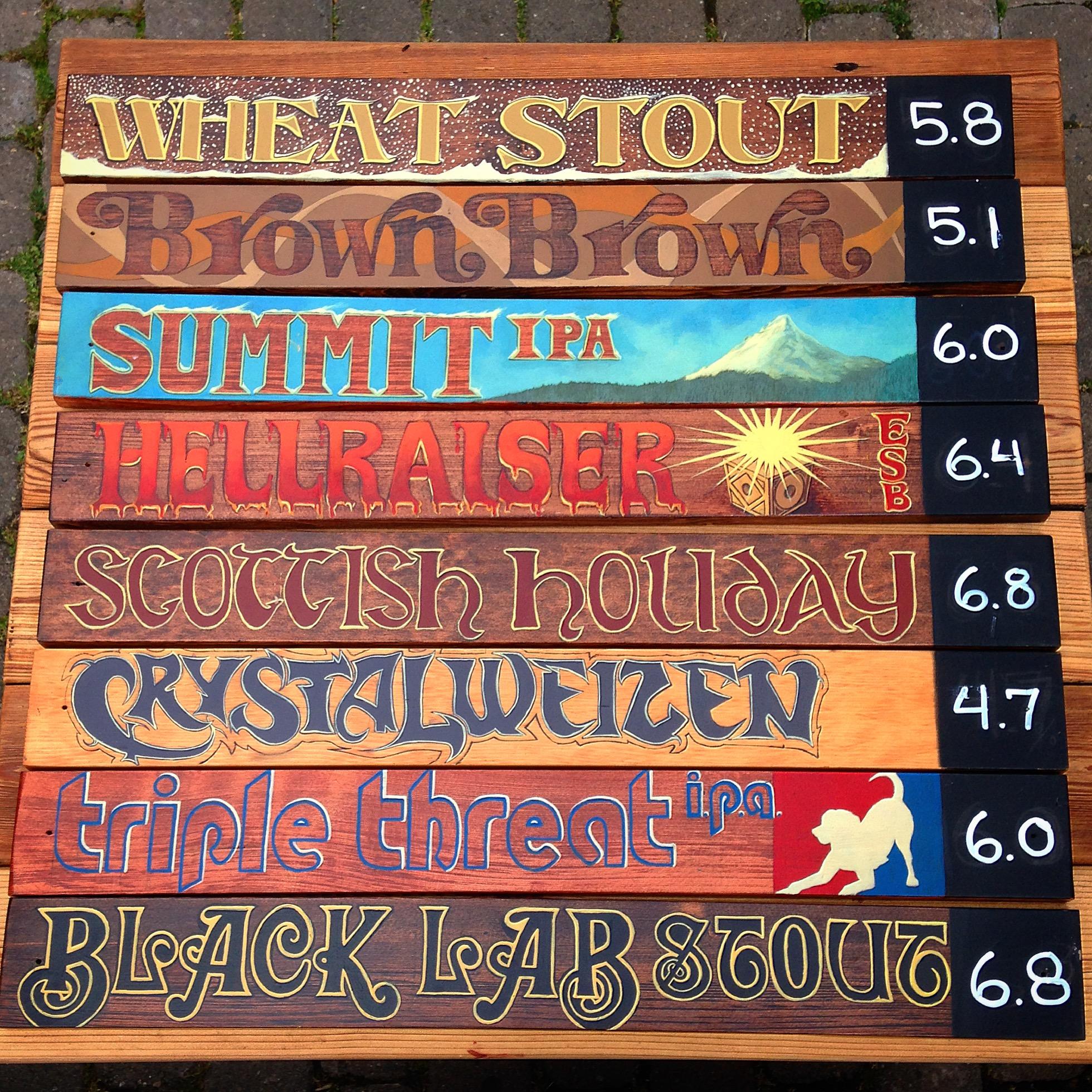 Beer Plaques