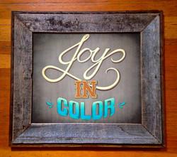 Joy in Color