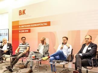 Prof. Kawohl war Teilnehmer auf einer Podiumsdiskussion beim 19. Eigenkapitaltag des Bundesverbands