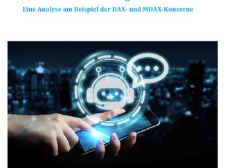 Studie über Chatbots von DAX- und MDAX-Konzernen