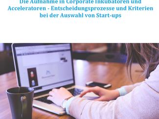 "Studie - ""Die Aufnahme in Corporate Inkubatoren und Acceleratoren"""