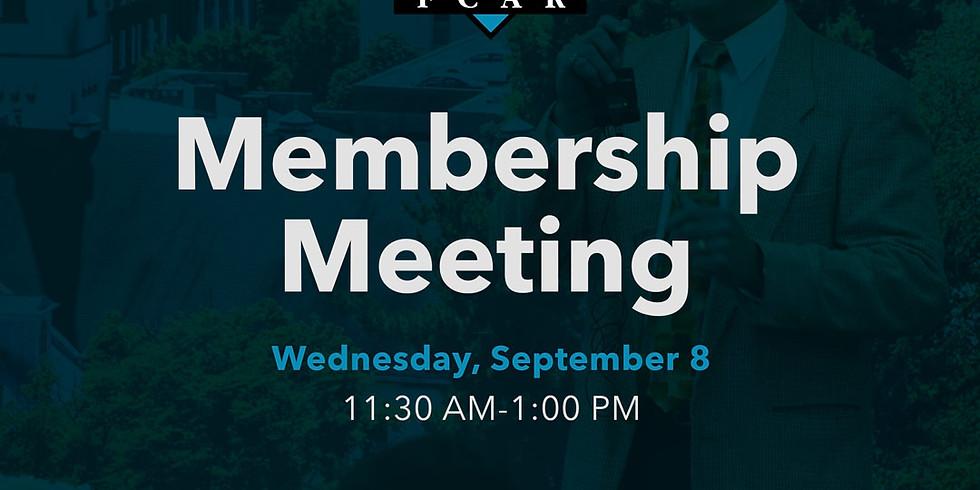 September Membership Meeting
